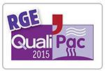 Logo QUALIPAC est énergies 54