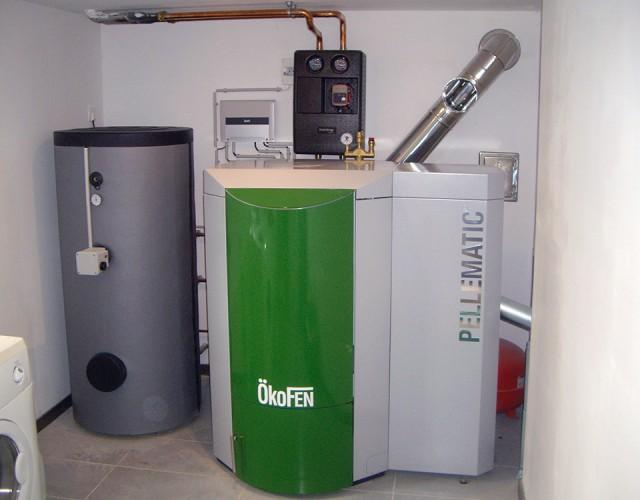 Installation d'un Pellematic avec Est énergies