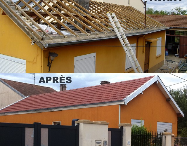 Réfection de toitures Est énergies